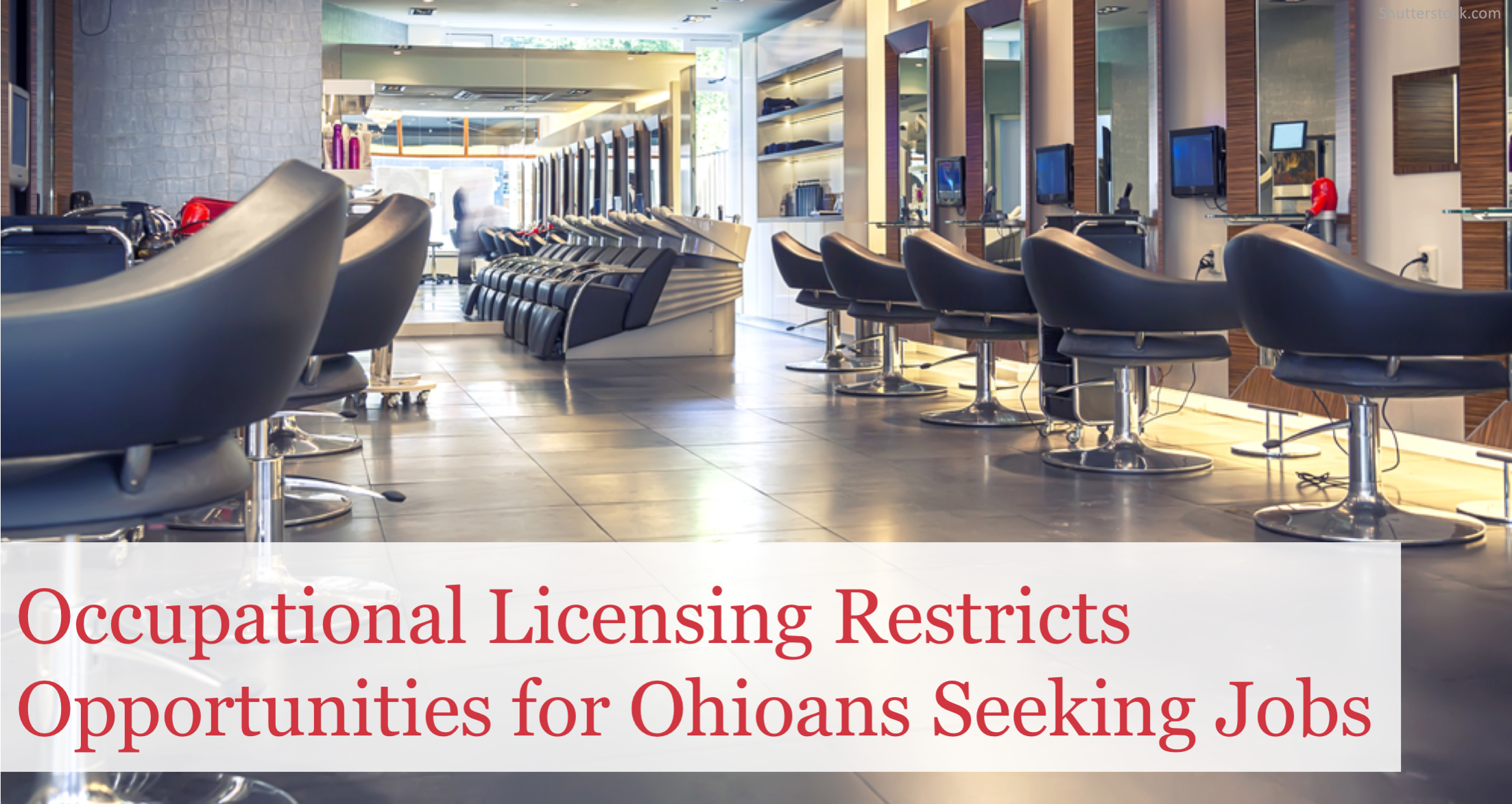 Time to Fight the Rising Tide of Occupational Licensing