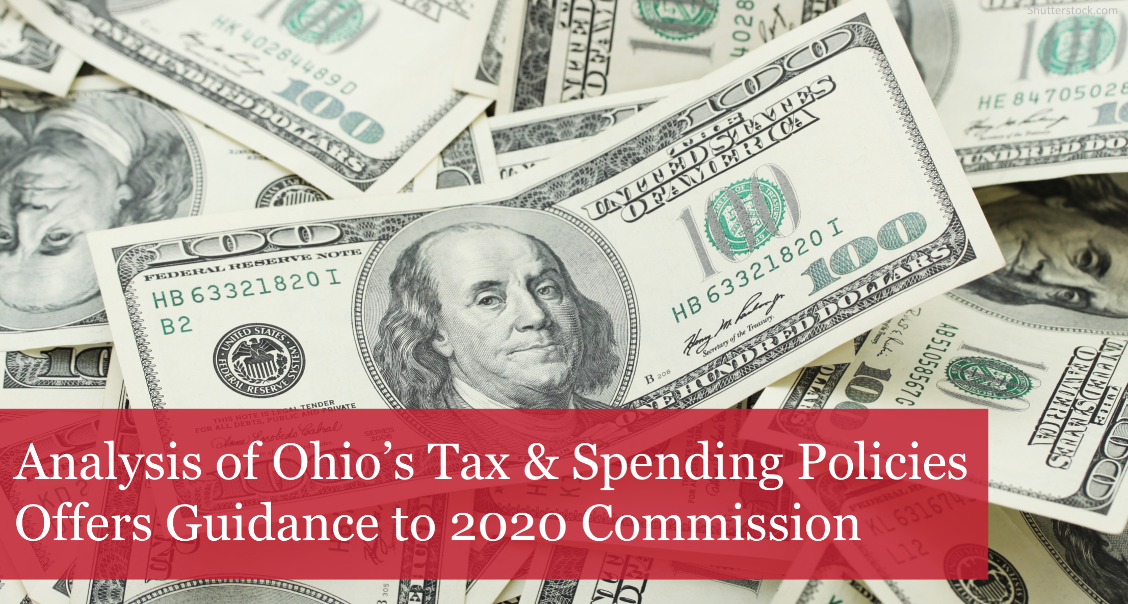New Buckeye Analysis of Ohio's Tax & Spending Policies Offers Guidance to 2020 Commission