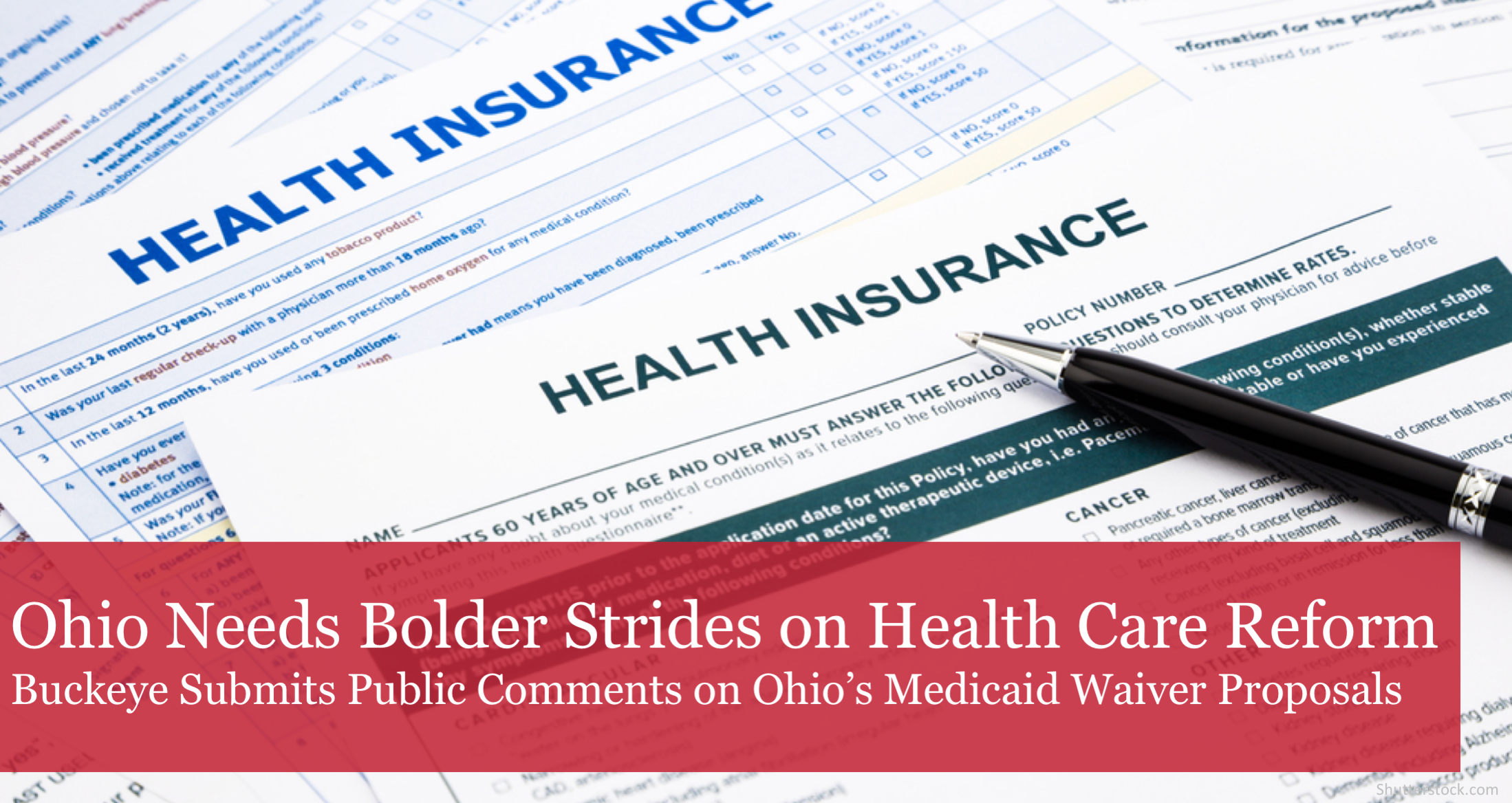 The Buckeye Institute: Policymakers Should Take Bolder Strides on Health Care Reforms that Country Can Follow
